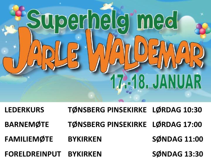 Superhelg med Jarle Waldemar